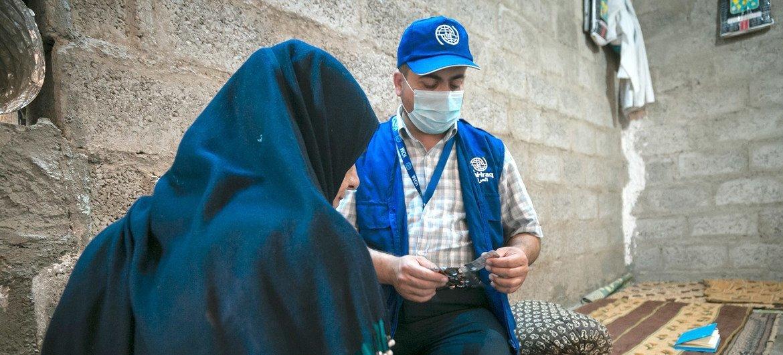 المنظمة الدولية للهجرة في العراق تعتمد على بصمة عملياتية قوية وخبرة قائمة لدعم استجابة حكومة العراق لجائحة كوفيد 19