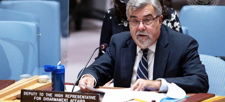 Thomas Markram, Deputy to the High Representative for Disarmament Affairs, addresses the Security Council.
