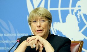 UN High Commissioner for Human Rights Michelle Bachelet. (file)