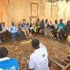 In Bangassou, Central African Republic, UN  Deputy Emergency Relief Coordinator Ursula Mueller met communities affected by conflict, local authorities and humanitarian organizations. (September 2019)