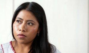 Yalitza Aparicio, actriz mexicana de origen mixteco y embajadora de Buena Voluntad de la UNESCO