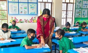 The educational disruptions caused by the COVID-19 crisis has highlighted the crucial role of teachers in maintaining learning continuity.
