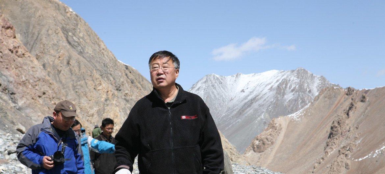 中国著名冰冻圈科学和气候学家、中国科学院院士秦大河。