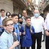 联合国近东救济工程处主任专员拉扎里尼于10月26-29日期间完成了上任后对叙利亚的首次访问。