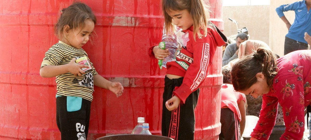 UNICEF sounds alarm over water cuts in Syria as efforts ramp up to prevent COVID-19 spread
