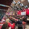 Des parlementaires du monde entier réunis à Belgrade (Serbie) pour la 141e assemblée de l'Union interparlementaire.