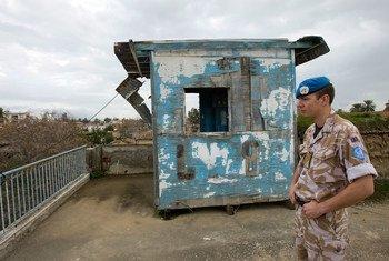 Ujumbe wa kulinda amani wa Umoja wa Mataifa huko Cyprus (UNFICYP) unadhibiti eneo maalum kati ya pande kinzani nchini Cyprus.
