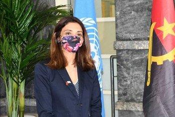 Zahira Virani, a nova coordenadora residente das Nações Unidas em Angola.