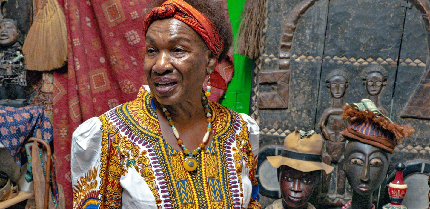Priestess Miriam Chamani is the founder and Queen Mother of the Voodoo Spiritual Temple in New Orleans.