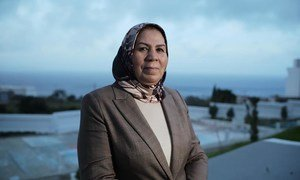 Latifa Ibn Ziaten received the Zayed Prize for Human Fraternity 2021