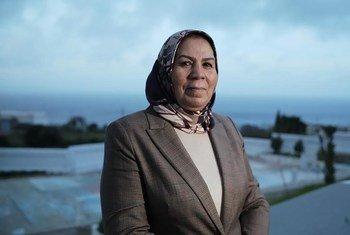 """السيدة لطيفة بن زياتن حصدت جائزة """"زايد للأخوة الإنسانية"""" لعام 2021  مناصفة مع أمين عام الأمم المتحدة أنطونيو غوتريش."""