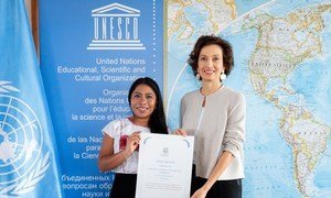 The Director-General of UNESCO, Audrey Azoulay, has named Mexican actress Yalitza Aparicio as a UNESCO Goodwill Ambassador for Indigenous Peoples