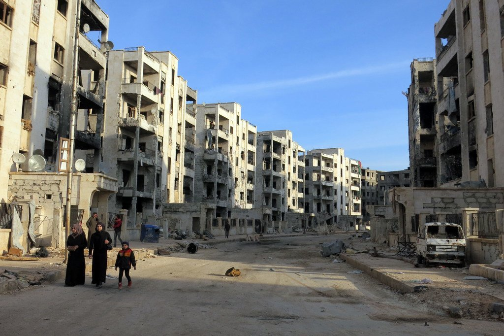 据称,2018年11月叙利亚阿勒颇发生了使用化学武器事件。