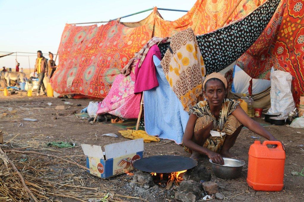 Des dizaines de milliers de réfugiés ont franchi la frontière entre l'Ethiopie et le Soudan pour fuir les violences dans la région du Tigré (archive)