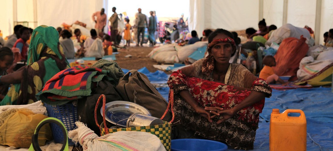 Humanitarian agencies are responding to the needs of tens of thousands of refugees who have fled from Ethiopia's Tigray region to Sudan.