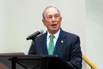 迈克尔·布隆伯格(Michael Bloomberg)再次被任命为联合国秘书长气候雄心与解决方案特使。 (资料照片)