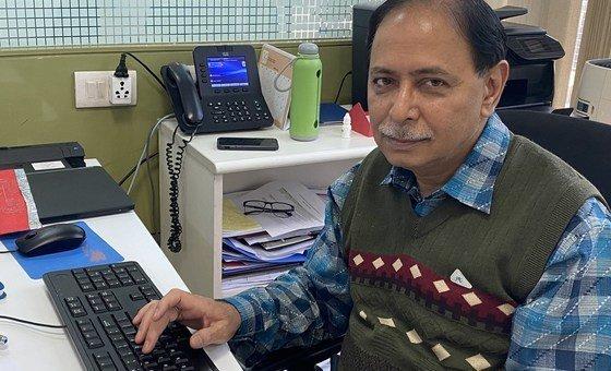 विश्व स्वास्थ्य संगठन के भारत कार्यालय में कार्यरत नेशनल प्रोफ़ेशनल अधिकारी डॉक्टर पंकज भटनागर.