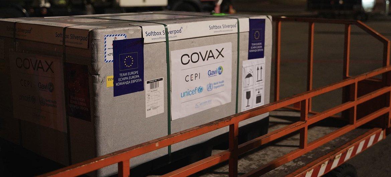 Молдова стала первой европейской страной, получившей вакцину от COVID-19 благодаря механизму COVAX