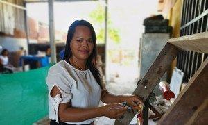 Flor Rivera es la gerente de Coope Brujas del Mar en Costa Rica, y es apoyada por el Programa Conjunto de las Naciones Unidas