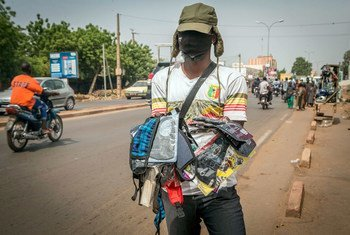 In fighting the coronavirus in Mali, the UN is partnering with authorities to raise awareness.