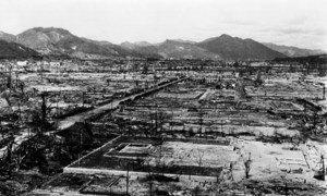 6 अगस्त 1945 को जापान के हिरोशिमा शहर में परमाणु बम हमले से तबाही हुई थी.