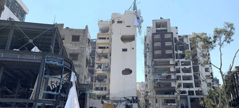 8月4日的爆炸,在贝鲁特全城造成了严重破坏。
