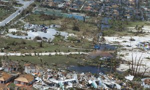 The US Coast Guard has been supporting response efforts in the Bahamas following Hurricane Dorian