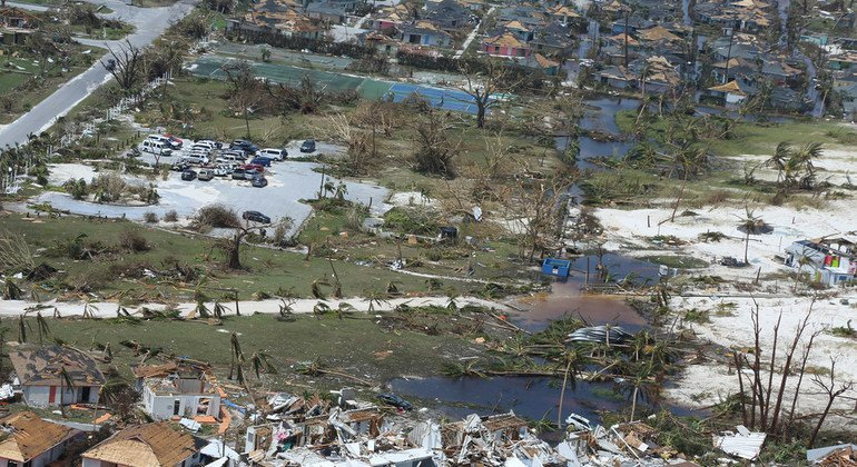 UN gears up emergency food aid for hurricane-struck region of Bahamas, as death toll rises