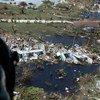 A Guarda Costeira dos Estados Unidos tem apoiado os esforços de resposta nas Bahamas após o furacão Dorian.