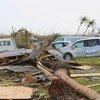 Equipe do Unicef no terreno diz que testemunhou devastação e destruição generalizadas.