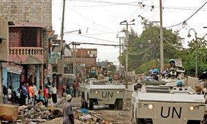 Miaka kumi na tano mfululizo ya shughuli za kulinda amani za Umoja wa Mataifa nchini Haiti inamalizika Oktoba mwaka huu 2019. Kitengo cha habari cha Umoja wa Mataifa kinaangazia shughuli zilizofanywa na UN nchini Haiti.