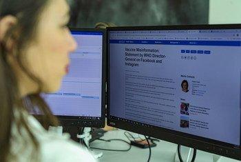 L'ONU travaille avec plusieurs partenaires, notamment les réseaux sociaux pour combattre la désinformation sur le coronavirus