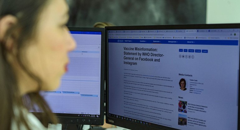 WHO welcomes Facebook commitment to stop vaccine misinformation from going viral