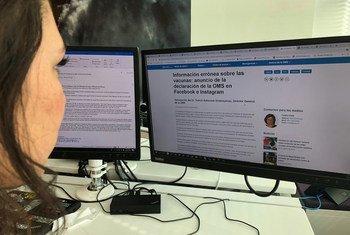 L'ONU s'efforce de lutter contre les informations fausses et trompeuses concernant le coronavirus.