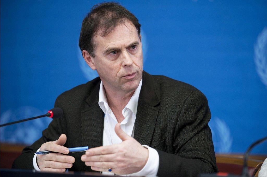 Rupert Colville, porte-parole du Haut-Commissariat des Nations Unies aux droits de l'homme.