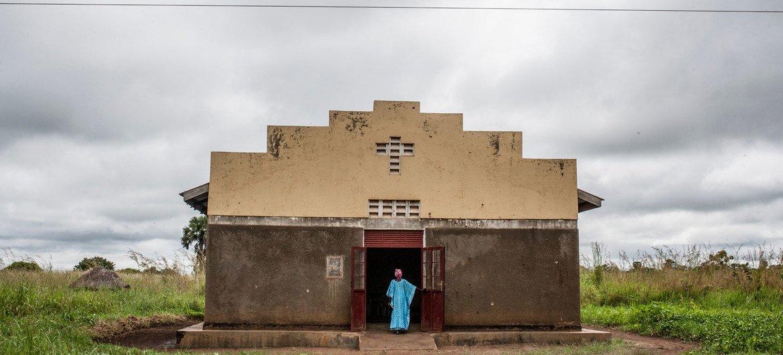 A religião tem sido um apoio inestimável para muitos sobreviventes do conflito no norte de Uganda