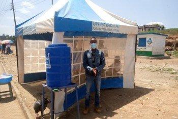 Mradi wa UN-HABITAT nchini Kenya unaosaidia wasio na makazi katika kukabiliana na ugonjwa wa virusi vya corona.