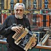 Clarence Martin has been making accordions for 37 years.