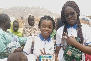 Divina Maloum, une jeune camerounaise qui se bat pour protéger les enfants et lutte contre l'extrémisme violent dans son pays. Elle est la fondatrice de ''Enfants pour la Paix''