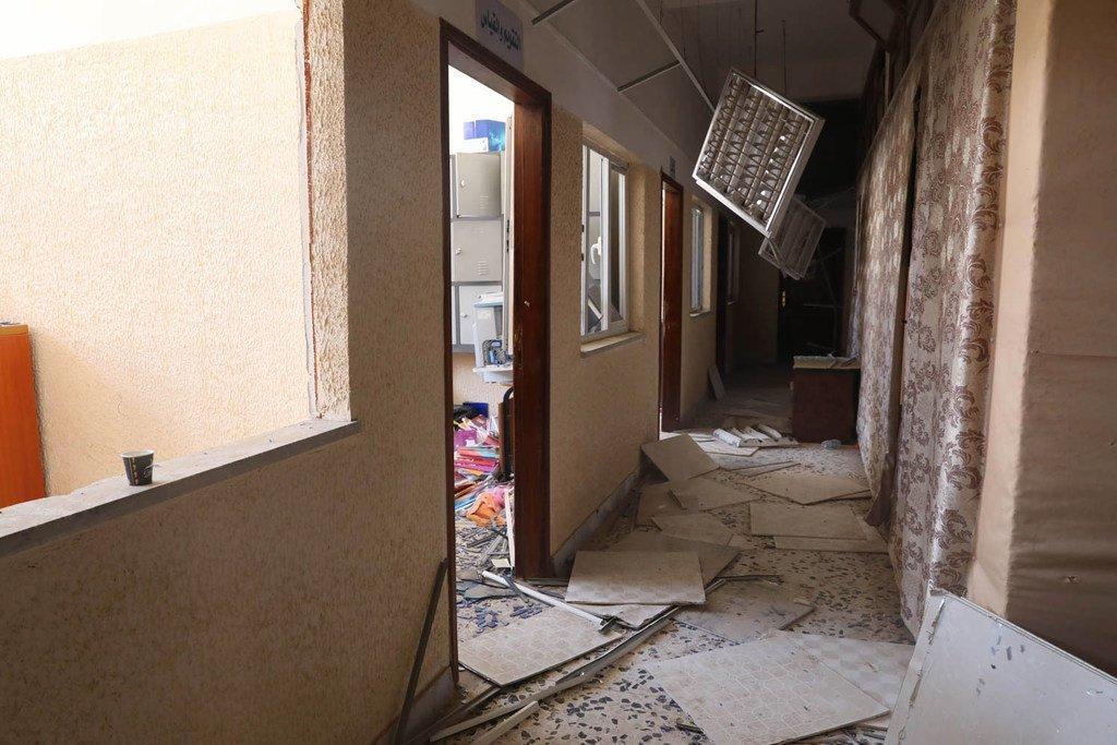 Le 3 janvier, quatre écoles dans l'est de la capitale libyenne Tripoli ont été prises pour cible, entraînant de gros dégâts (archives)