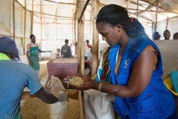 Liberee Kayumba anayefanya kazi na WFP