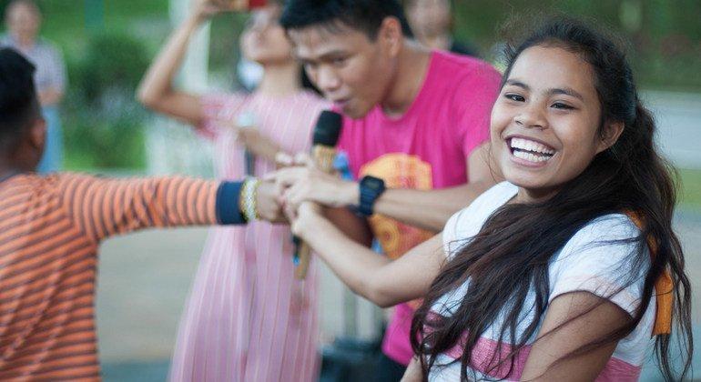 Lumads, un indígena de Filipinas,