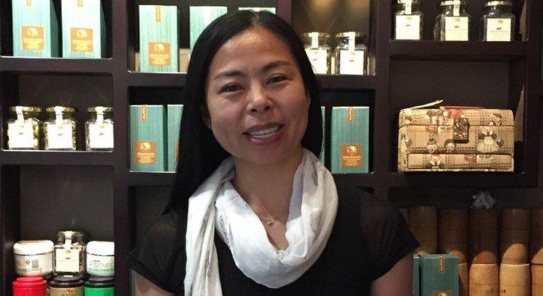 Yanmei Lee, dueña de un negocio y doble en escenas peligrosas en el cine, emigró a Sudáfrica hace 30 años.