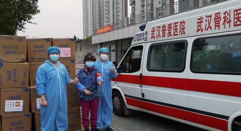 La misión de la OMS para investigar el origen del coronavirus llega a Wuhan, China
