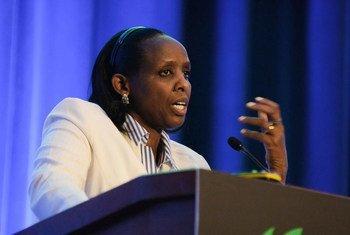 联合国秘书长2021年粮食系统首脑会议特使艾格尼丝·卡里巴塔