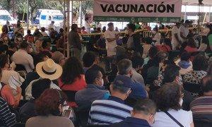 México vacuna contra el COVID-19 a los adultos de entre 50 y 59 años.