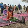 جنوب السودان: سكان بيبور ينتظروف الحصول على مساعدات غذائية.