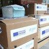 ВОЗ и ЕС доставили на Украину новую партию оборудования для борьбы с COVID-19