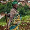 Displaced people in the Democratic Republic of the Congo do not always have access to the land they need to grow food.