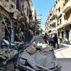 The explosion at Beirut port caused extensive damage in neighbouring residential areas.